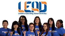 LEAD members (Leaders Educating About Diversity)