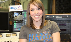 student at UTA Radio