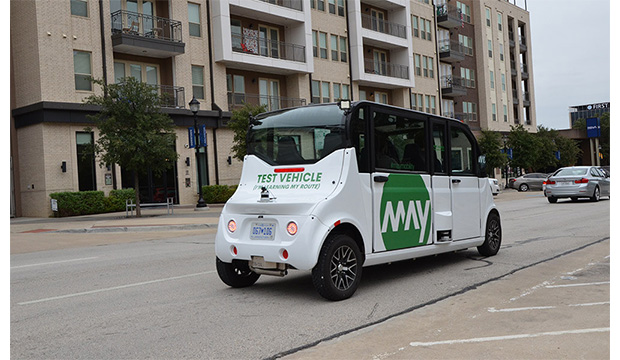 Arlington RAPID autonomous vehicle