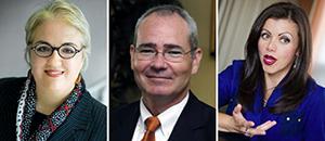 Drs. Susanna Khavul, Jeffrey McGee, and Liliana Perez-Nordtvedt