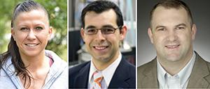 Drs. Jana Beinhauer, Jose Barerra, Kevin Schug