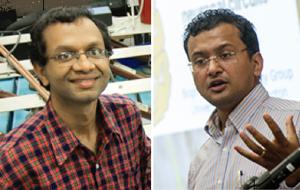 r. Ankur Jain, left, and Dr. Samarendra Mohanty