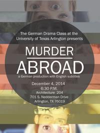 Murder Abroad-German Drama Class