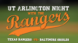 UTA Night at the Rangers