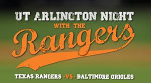 uta night with the rangers