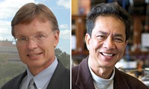 Dr. Daniel Armstrong and Dr. Purnendu 'Sandy' Dasgupta