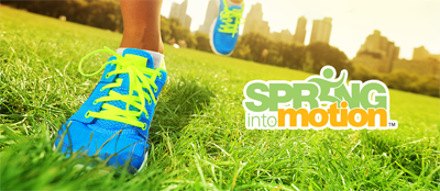 Spring into Action physical challenge