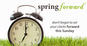daylight savings times pring