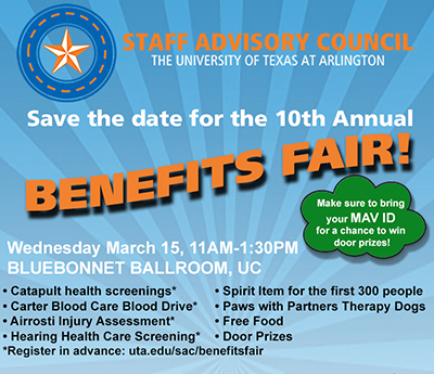 SAC benefits fair