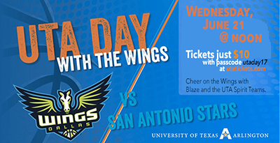 UTA Day with the Wings