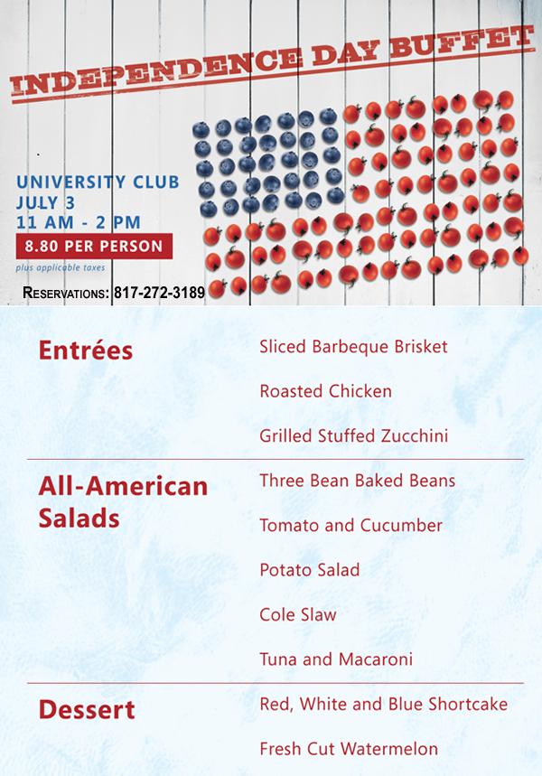 UC buffet
