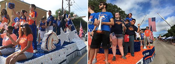 Fourth parade