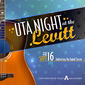 UTA Night at Levitt