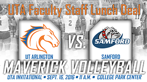 Volleyball Faculty-Staff Lunch Deal