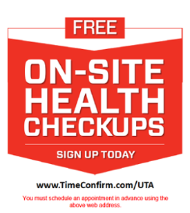 FREE on-site health checkups glyer