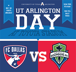 UTA Day at FC Dallas