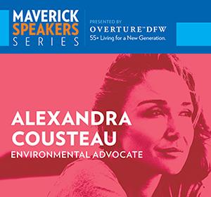 Maverick Speakers Series-Alexandra Cousteau