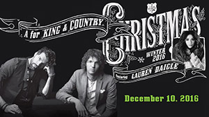 A for King and Country Christmas
