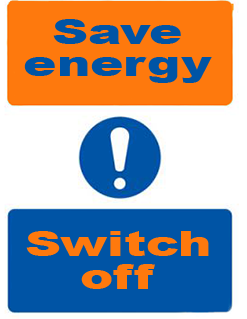 save energy-switch off