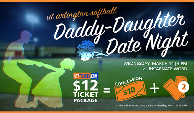 softball daddy-daughter date night