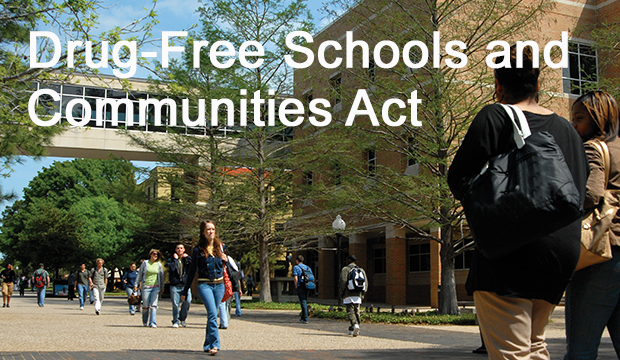 drug free schools and communities act