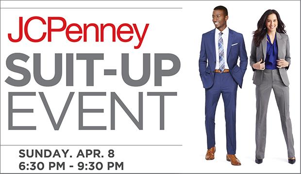 JC Penney Suit Up