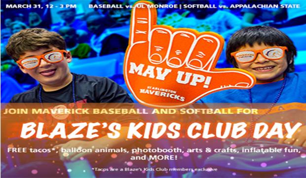 blaze kids club day