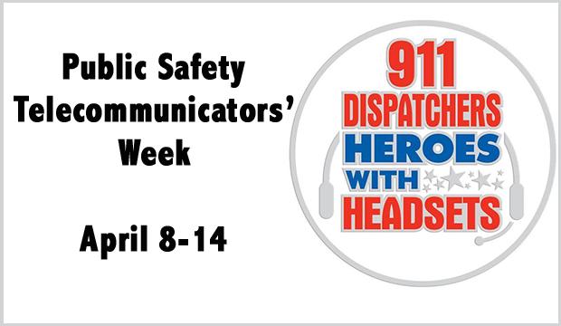 public safety telecommuinicators' week