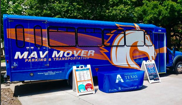 New mavmover shuttle