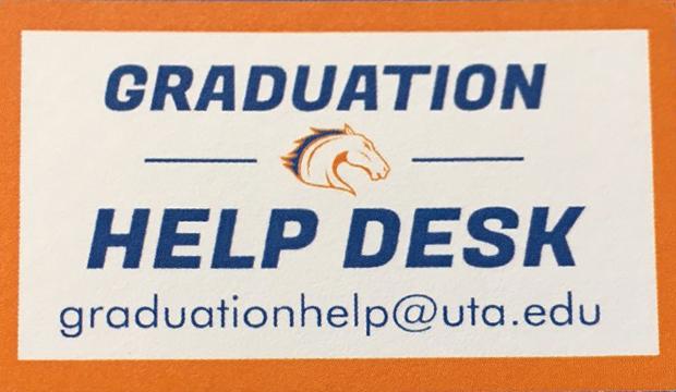 graduation help desk