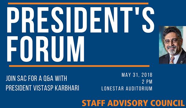 SAC president's forum
