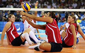 sit volleyball