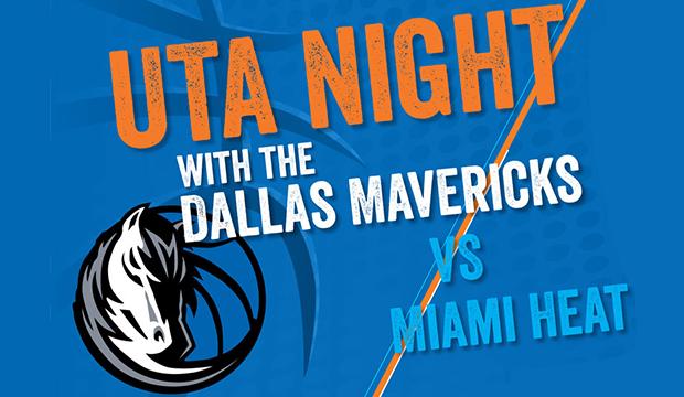 UTA Night with Dallas Mavericks