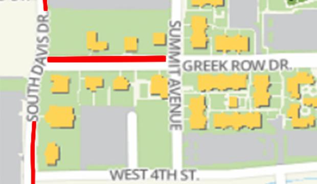 Greek Row closure