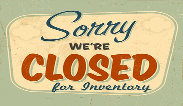 closed for inventory