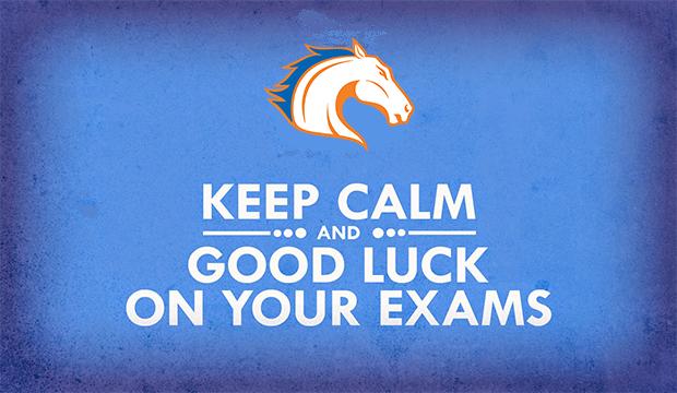 keep calm finals