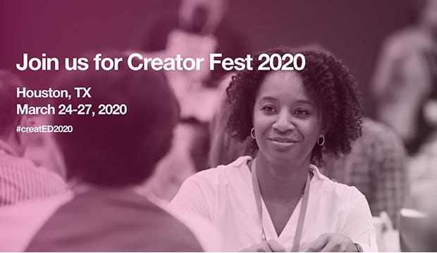 Creator Fest 2020 logo