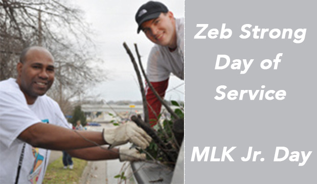 Zeb Strong Day of Service/MLK Jr. Day
