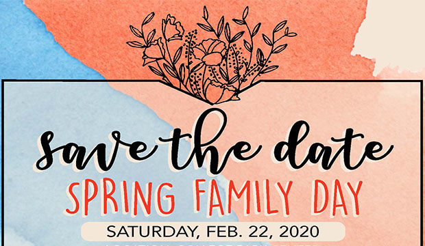 Save the Date for UTA's Spring Family Day: February 22