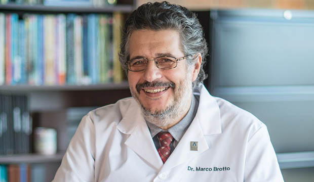 Marco Brotto, professor of nursing at UTA's College of Nursing and Health Innovation and director of the Bone-Muscle Research Center.