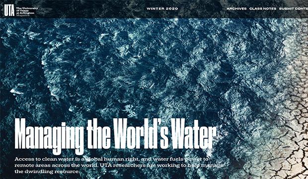 UTA Magazine-winter 2020