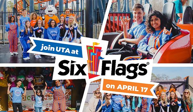 UTA Night at Six Flags is April 16
