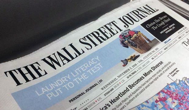 The Wall Street Journal front page