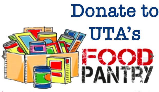 Donate to UTA's Food Pantry
