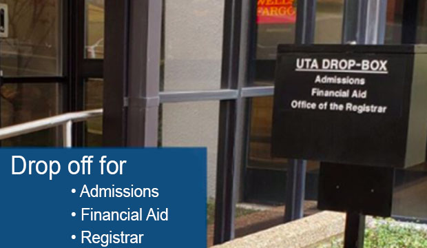 Drop Box for Admissions, Financial Aid, and Registrar