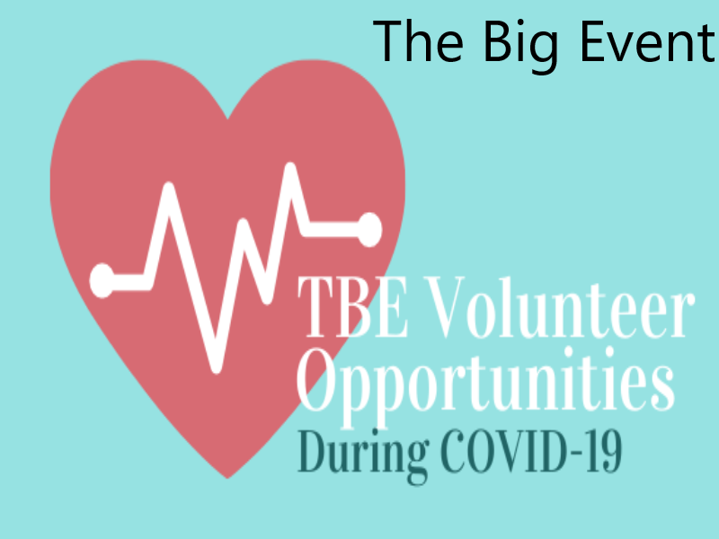 The Big Event Volunteer Opportunities during COVID-19