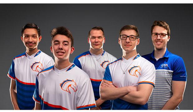 UTA esports team