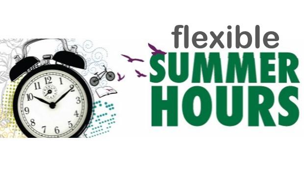 flexible summer hours