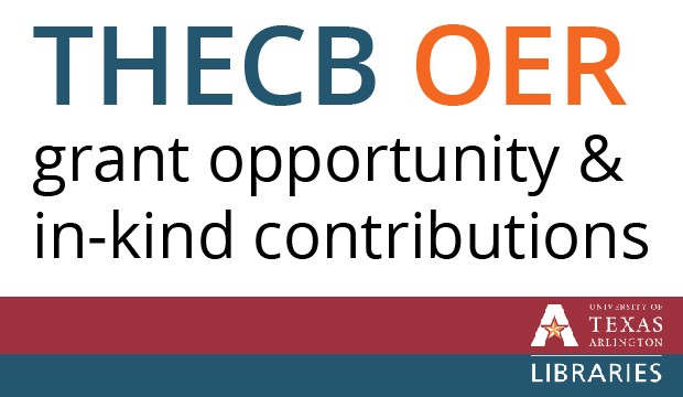 THECB OER grants and in-kind contributions