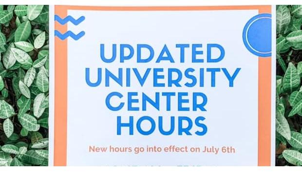 University Center Updated Hours